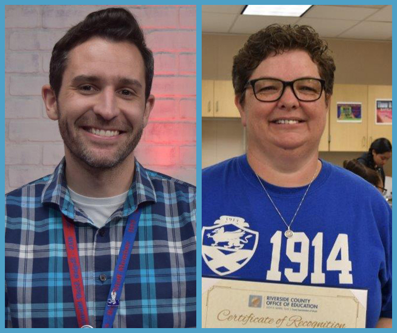 Two DSUSD educators named Riverside County Teacher of the Year