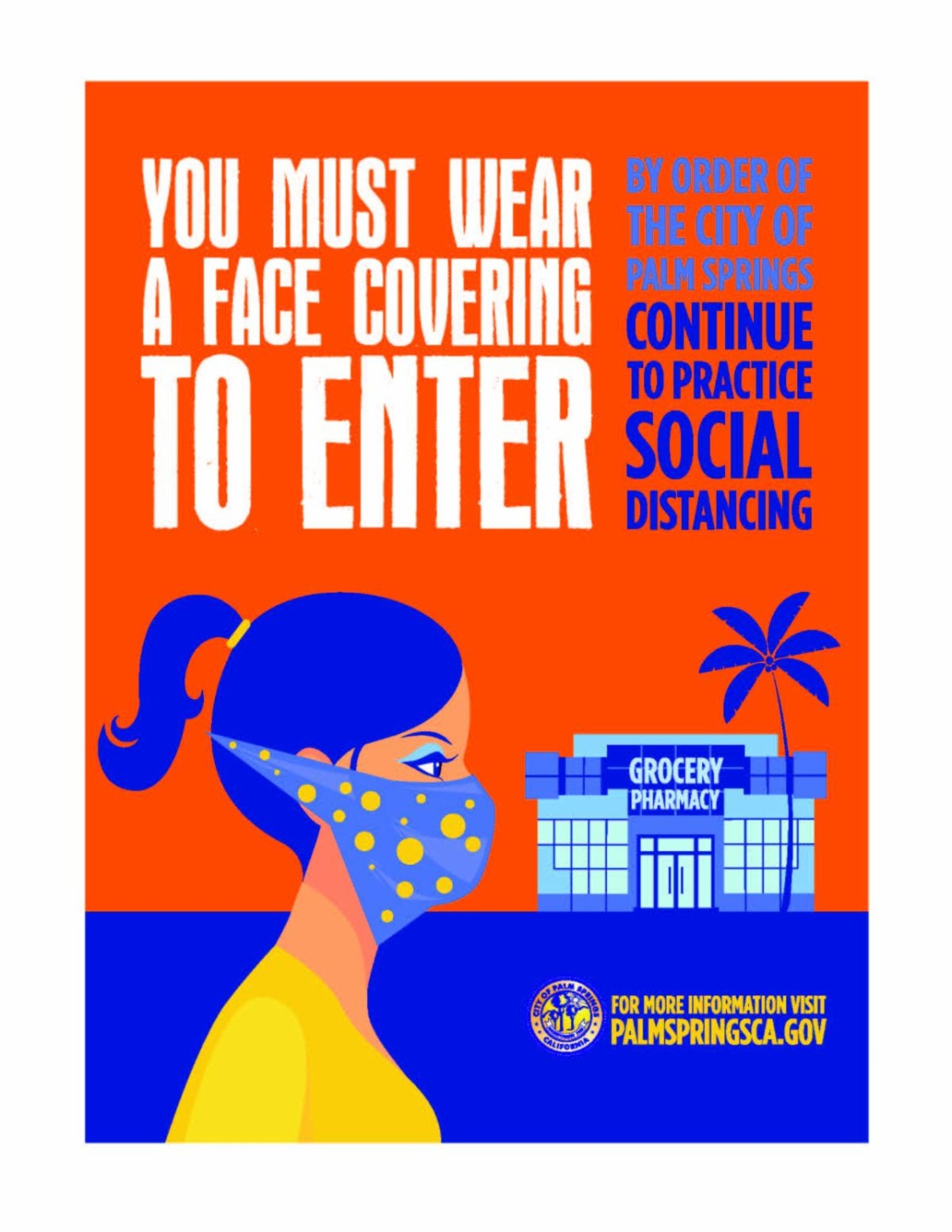 Palm Springs Strengthens Face Covering Order; Citations Can Be Issued