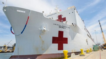 USNS Mercy Hospital Ship to Return to San Diego
