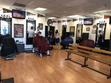 Local salons and barbershops start to welcome clients again