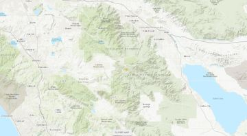 3.1 Magnitude Earthquake Strikes Near Anza