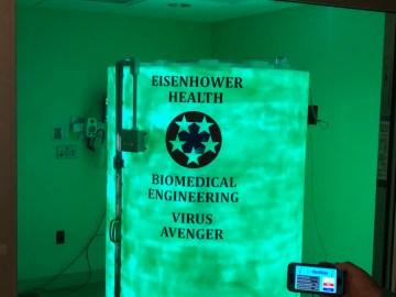 """Eisenhower Health Installs """"Virus Avenger"""" to Decontaminate Masks"""