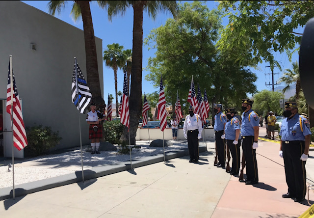Local Fallen Heroes Honored on Memorial Day Ceremony in Palm Springs
