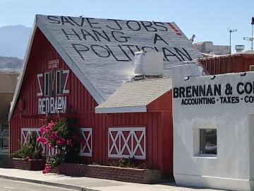 Red Barn bar in Palm Desert Keeps Their Doors Closed
