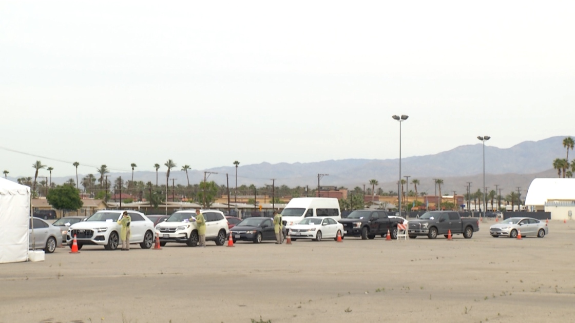 At Least 15,000 People Tested at Indio Fairgrounds