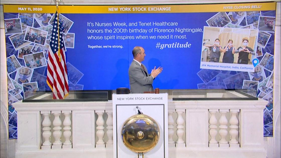 JFK Nurses Honored at NYSE Closing Bell