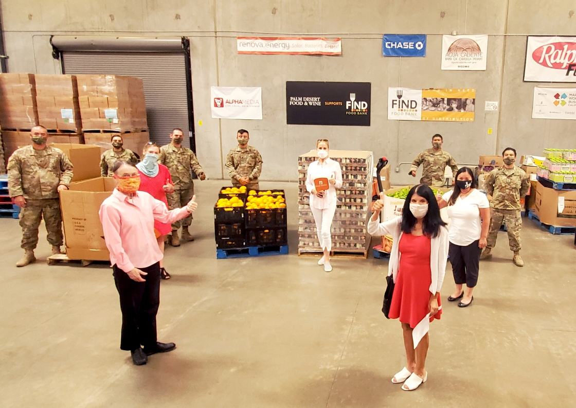 FIND Food Bank Receives $10K and 100 Pounds of Food from Palm Desert