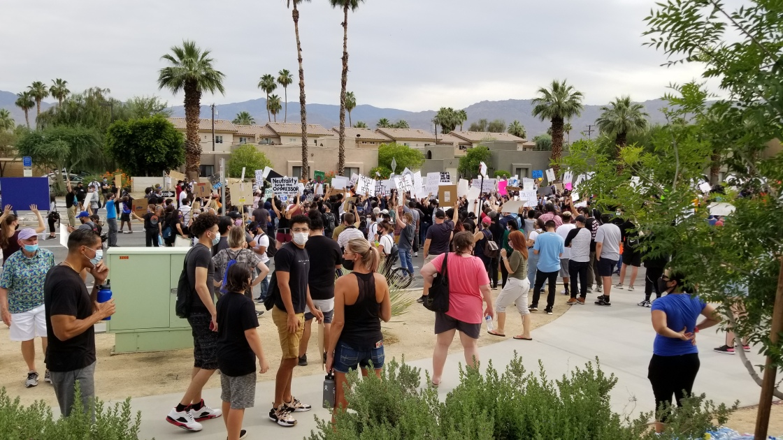 Coachella Valley Protests Remain Peaceful