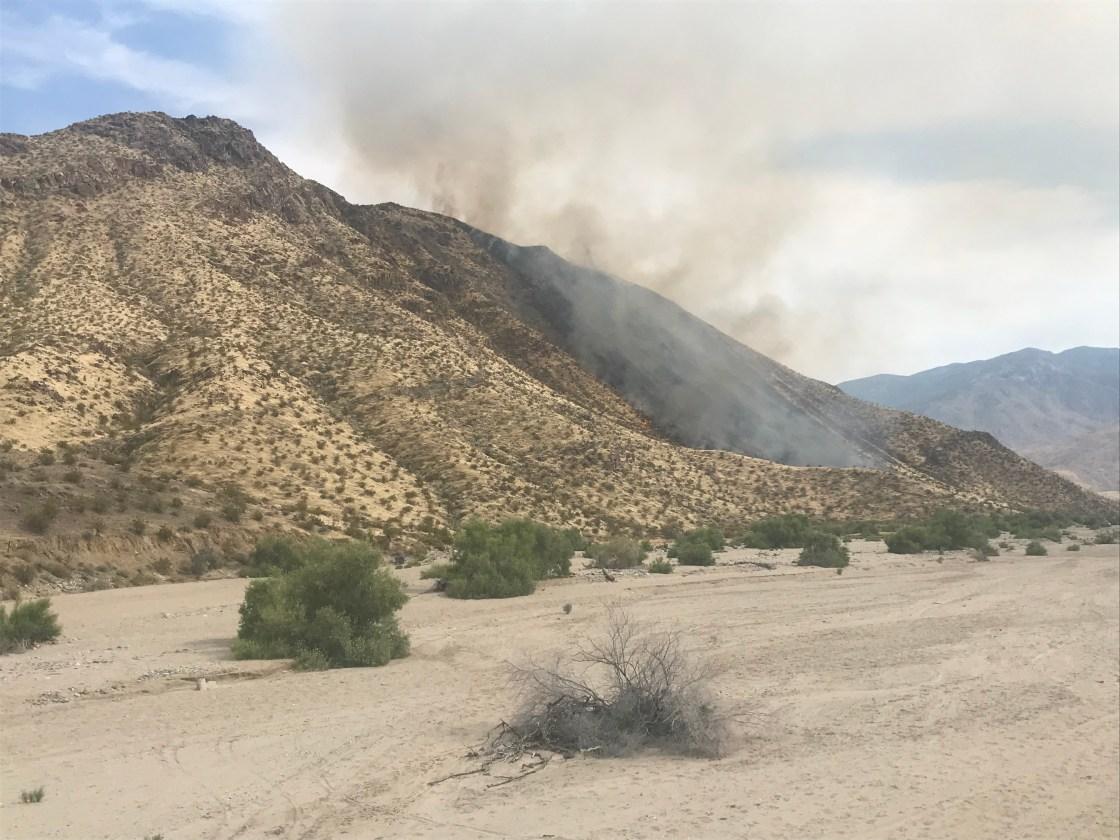 Brush Fire Burns 140 Acres Near Bob Hope's Former Home