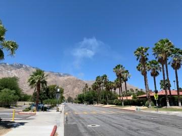 Crews Battling Brush Fire in Palm Springs