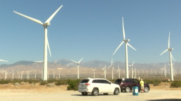 Self-driving Tour; New Attraction at Palm Springs Windmill Tours