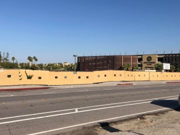 Construction of Palm Springs New Arena delayed