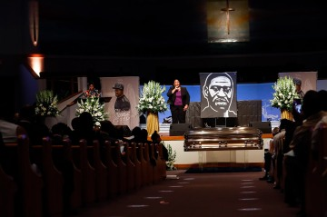 George Floyd Remembered as a World-Changing Figure at his Funeral