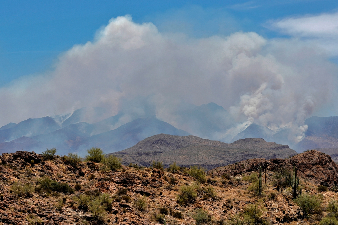 Bush Fire is now the 5th largest in Arizona's history