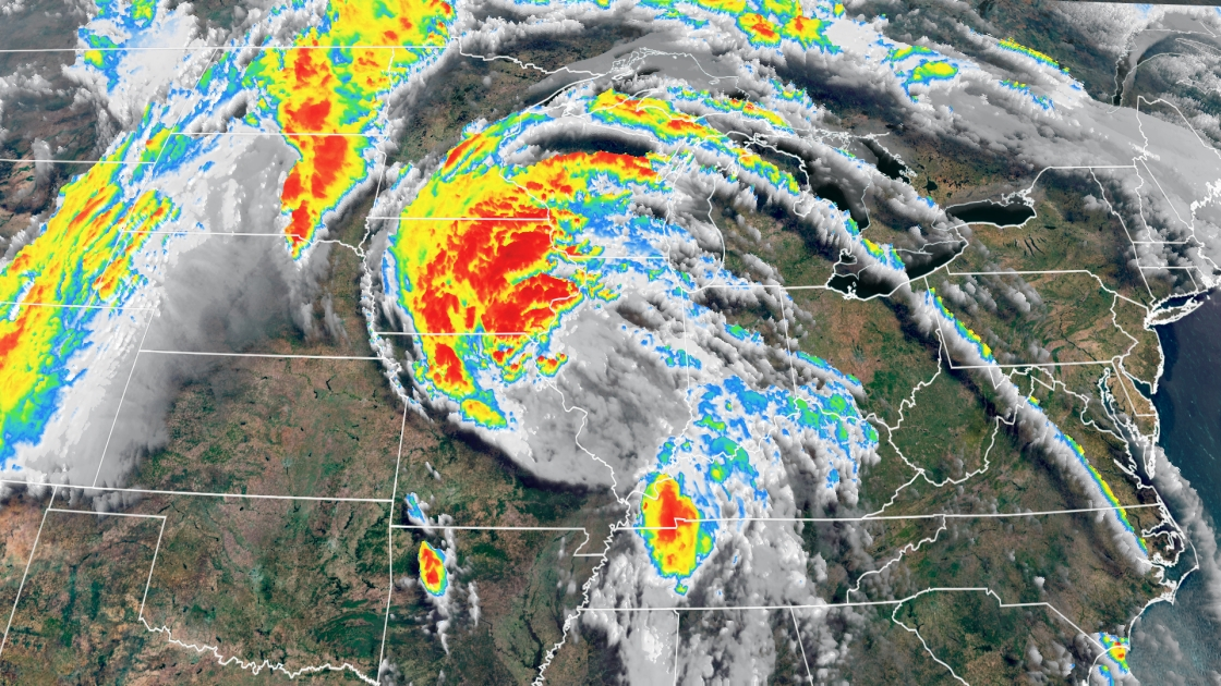 Cristobal Continues to Unleash Strong Winds and Heavy Rain Across Midwest
