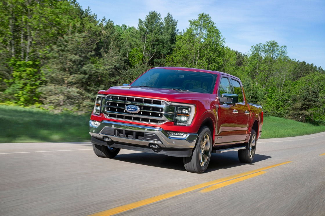 Ford's powerful new F-150 offers fully reclining seats and bottle opener