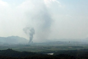 North Korea Blows up Liaison Office in Kaesong used for talks with South