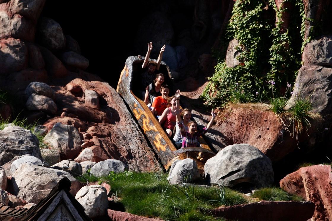 """Disney Ride, Splash Mountain, Being """"Reimagined"""""""
