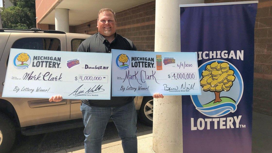 Man wins a $4 million lottery jackpot AGAIN