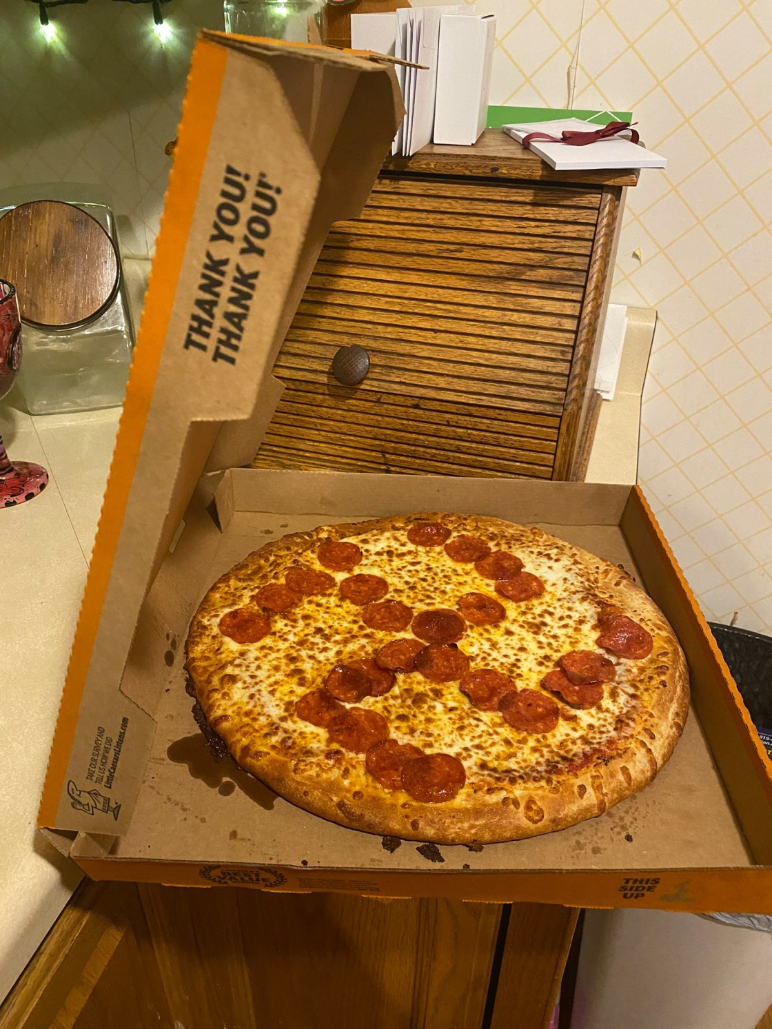 Two employees fired after couple finds swastika made of pepperoni