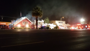 Early Morning Fire Breaks Out at Red Barn Bar