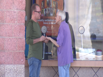 Coachella Valley Couple Weds at Movie Theater