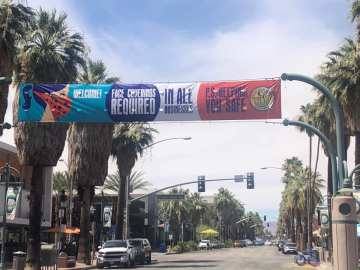 Palm Springs residents raise concerns over a crowded Father's Day weekend