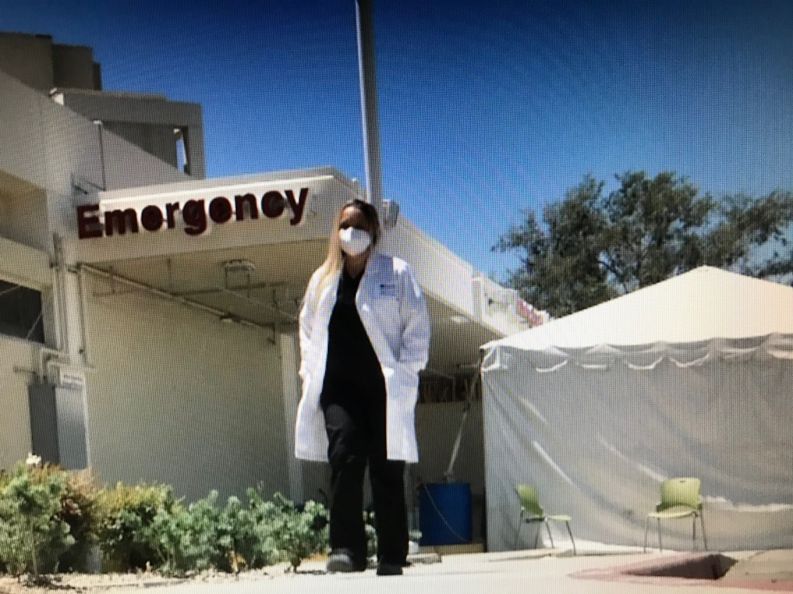 Doctor Shares Experience Fighting Pandemic in New York and Riverside County