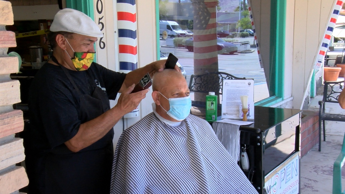 Local Barbershops and Salons Struggle With Outdoor Operations