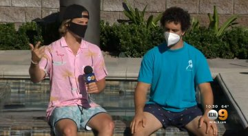 YouTubers Turned Down Trying To Hand Out Free Masks In Huntington Beach