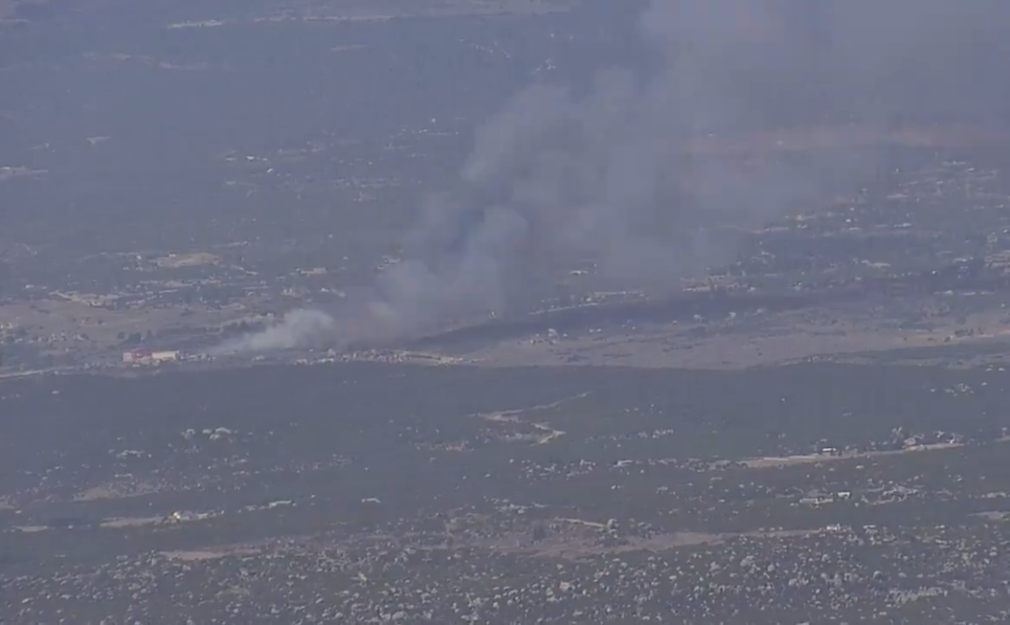 Brush Fire in Anza is 125 acres, 70% contained