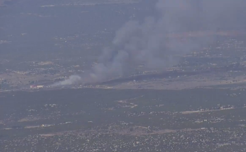 Blaze Erupts Near Cahuilla Casino in Anza
