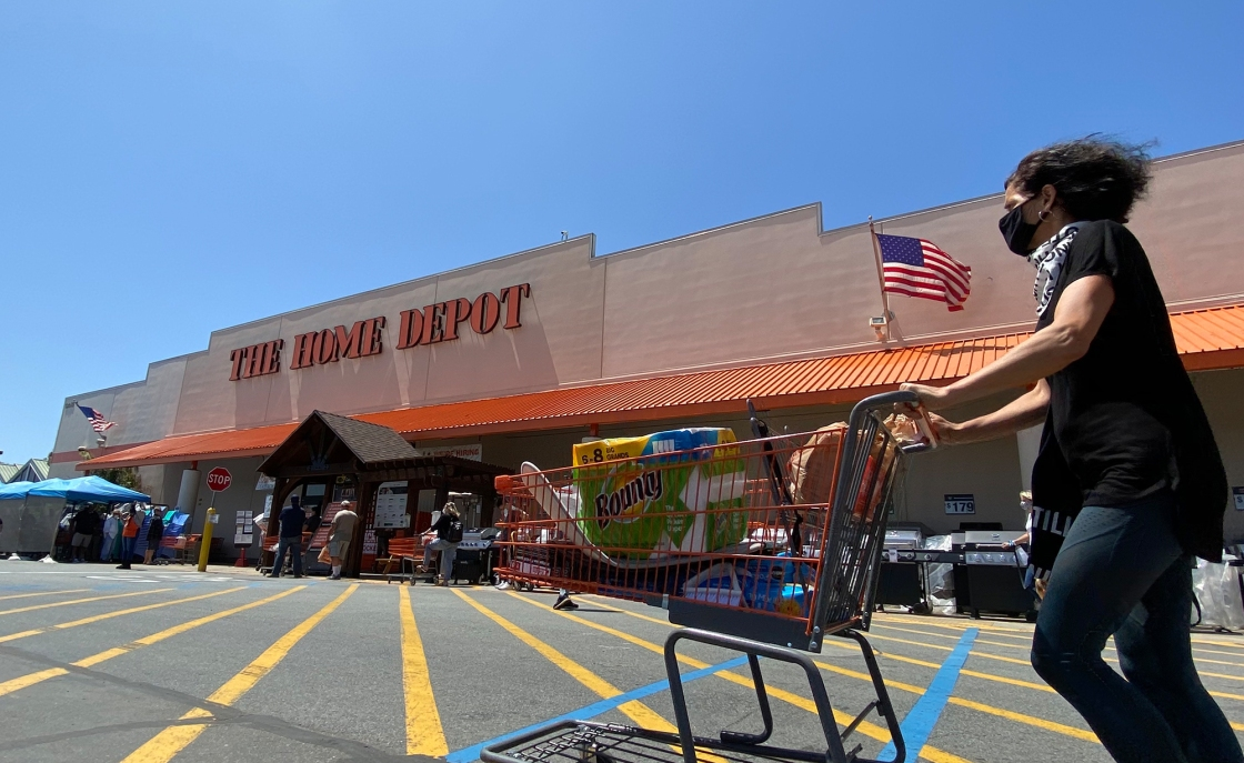 Home Depot and Lowe's will start requiring customers to wear masks