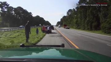 Shaq helped a stranded Florida driver