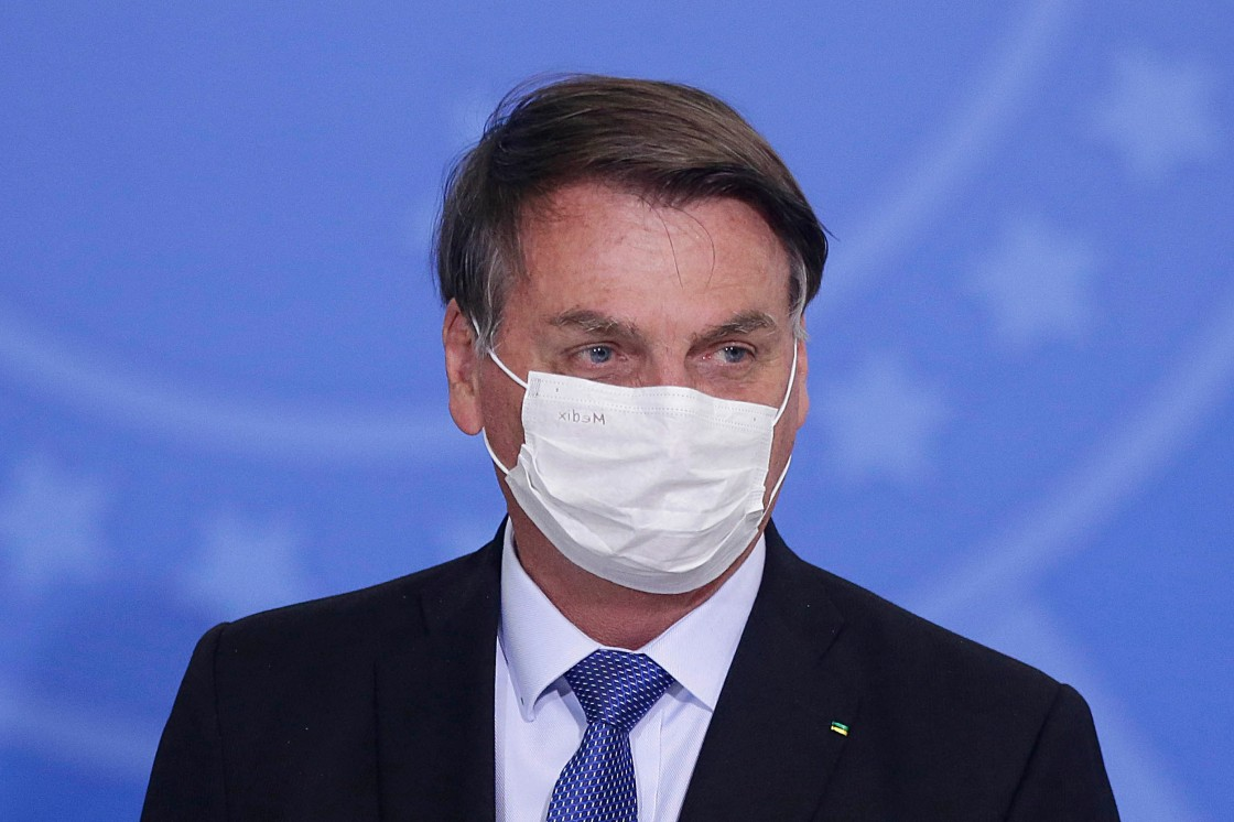 Brazil's Jair Bolsonaro tests positive for Covid-19
