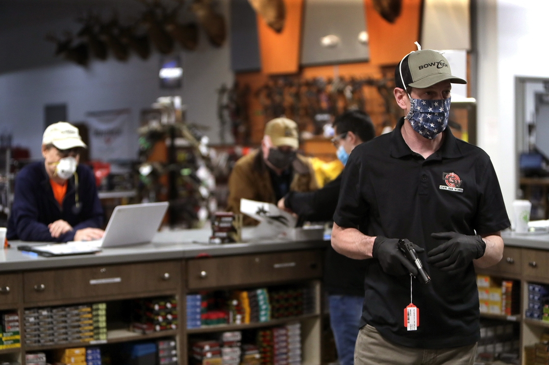 Gun and ammunition sales soar as defund-the-police movement grows