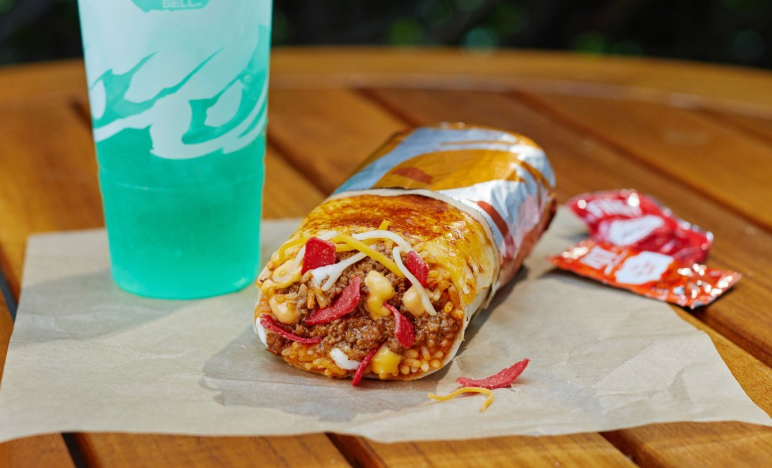 Taco Bell is releasing a grilled cheese burrito