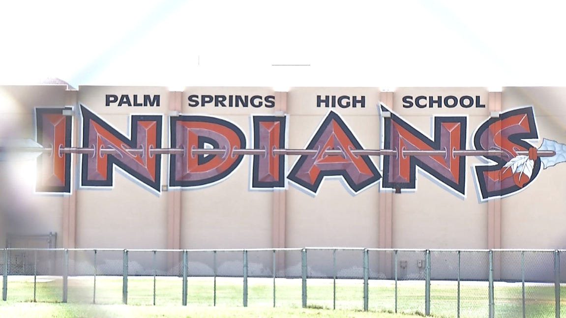 """Tribe supports Palm Springs High School """"Indians"""""""