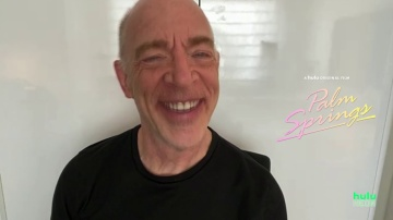 """Palm Springs"" Interview with J.K. Simmons, Camila Mendes, Meredith Hagner"