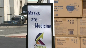 County Announces Mask Giveaways as Part of COVID Containment Strategy