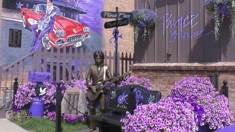 Minnesota town unveils life-sized statue of Prince