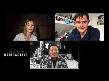 "Manny the Movie Guy Explores ""Radioactive"" with Rosamund Pike, Sam Riley, Director Marjane Satrapi"