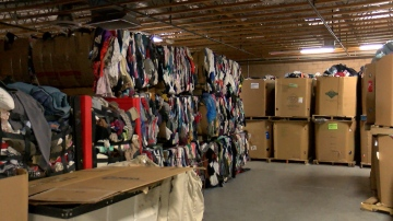 Thrift Store Donations Pile-up
