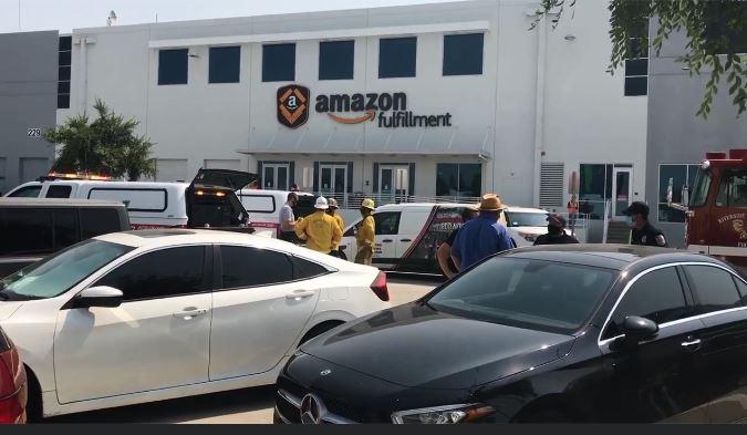 Potential Hazardous Substance Prompts Evacuation of Amazon Warehouse