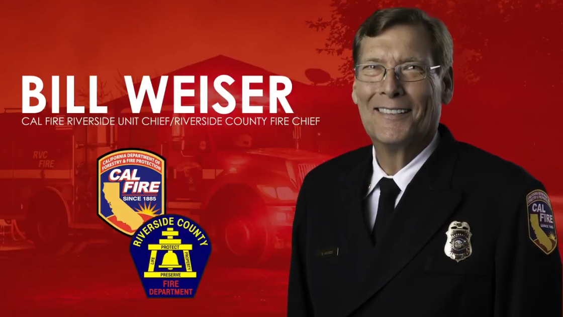 Meet Cal Fire Riverside County Fire Department's New Fire Chief