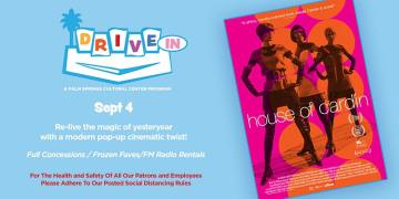 "Drive-In Movie: ""House of Cardin"""
