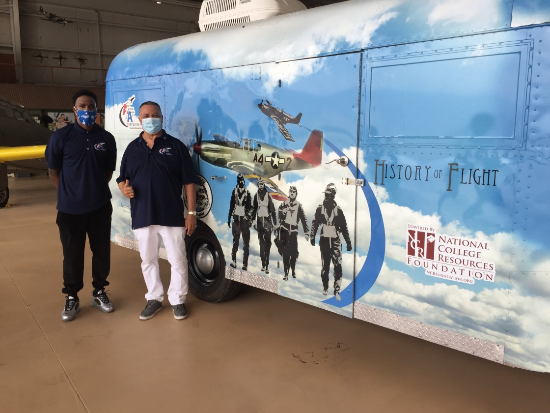 African Americans in Aviation Travel Museum Takes Off on Cross County Educational Tour