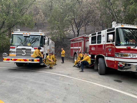Palm Springs Firefighters Fighting Second Largest Fire In California's History