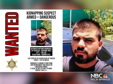 Armed Kidnapping Suspect Wanted in Mecca Area