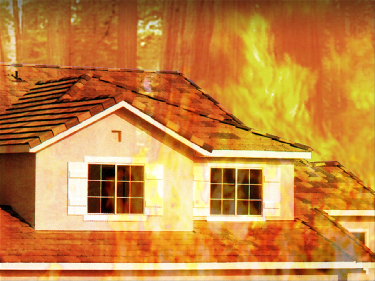 Two People Displaced by Palm Desert House Fire